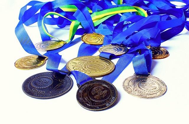どの競技も目指すは『金メダル』